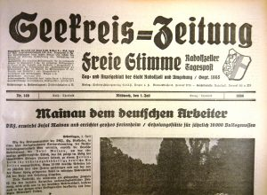 Johannes Waldschütz, Dr. Friedemann Scheck: Historische Zeitungen im Hegau – online