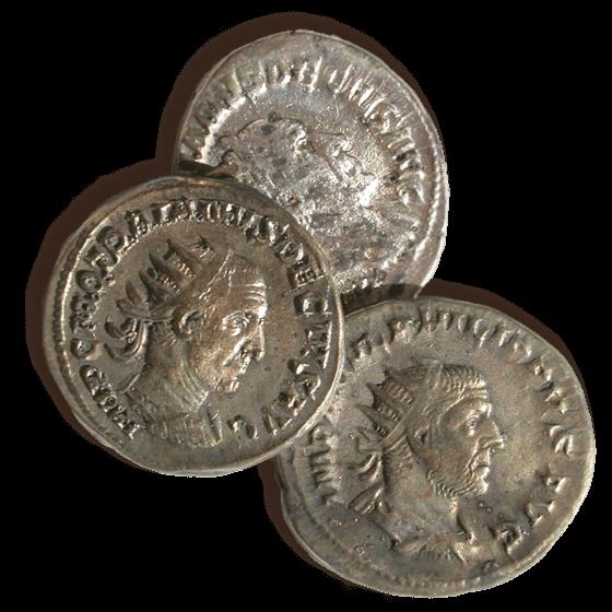 Büßlingen Gutshof Münzen Foto J.Hald